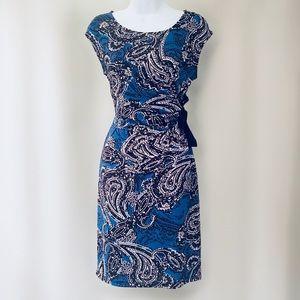 🆕 The Limited Cap Sleeve Print Career Dress